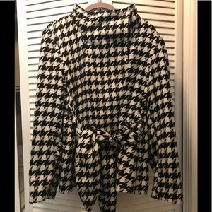 Black&White Houndstooth Jacket